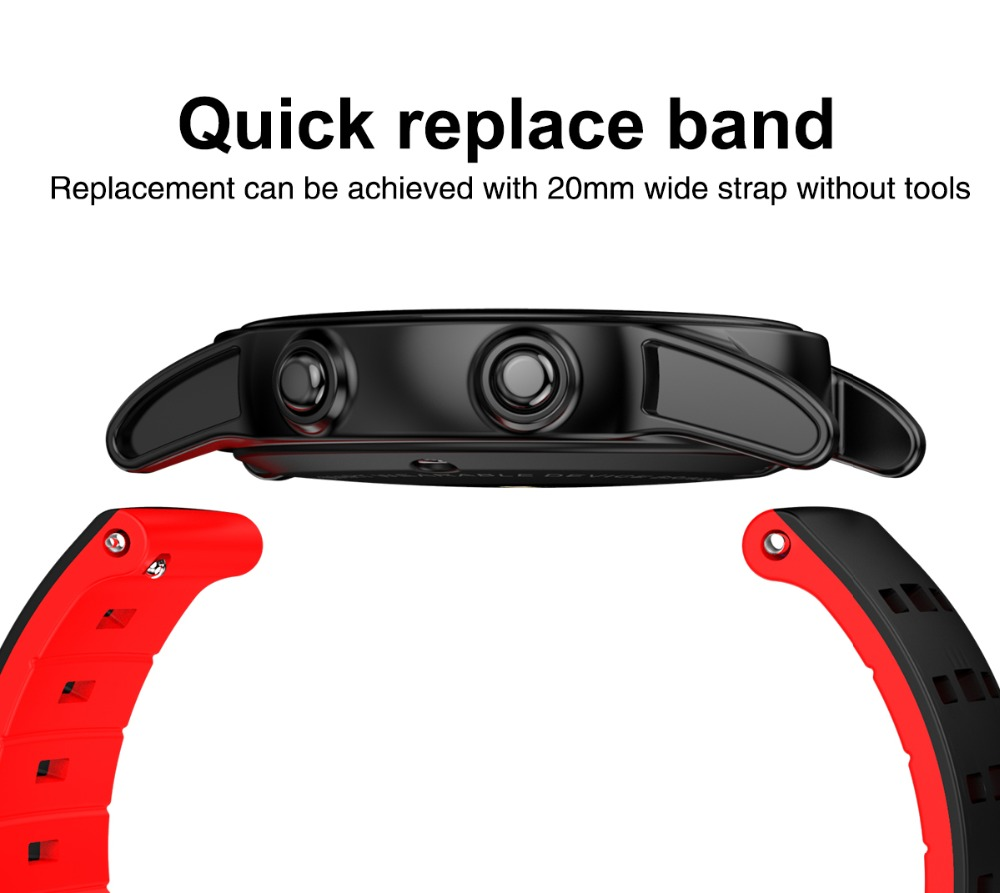 R13 Heart Rate Tracker 2.5D Tempered Glass IP67 OLED Screen Blood Pressure Smart Wristband