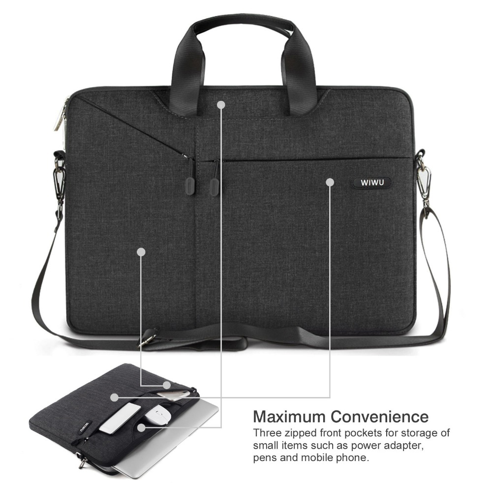 WIWU 12 inch Nylon elite Laptop Bag