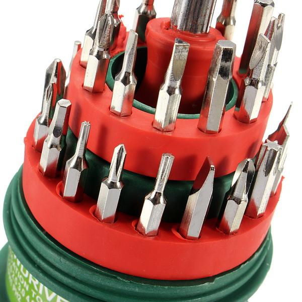 31 in 1 Precision Handle Screwdriver Set Mobile Phone Repair Kit Tools