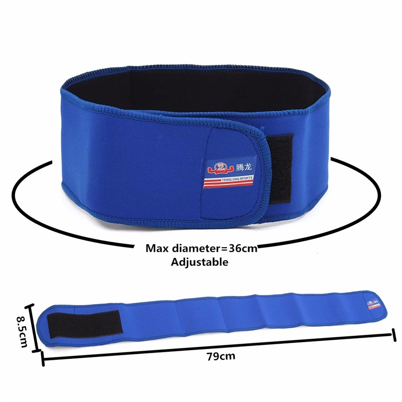 Adjustable Lumbar Back Support Spine Waist Pain Relief Brace
