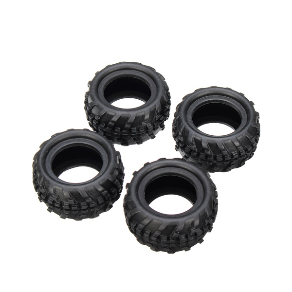WLtoys 1/28 P929-03 Tires 4PCS For Monster Trucks Car Parts