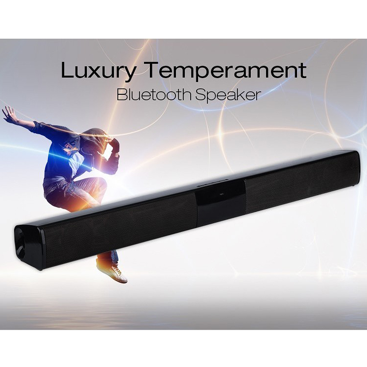 Wireless Bluetooth Soundbar TV Stereo Speaker Subwoofer Sound Bar Home Theater Home Audio Speaker