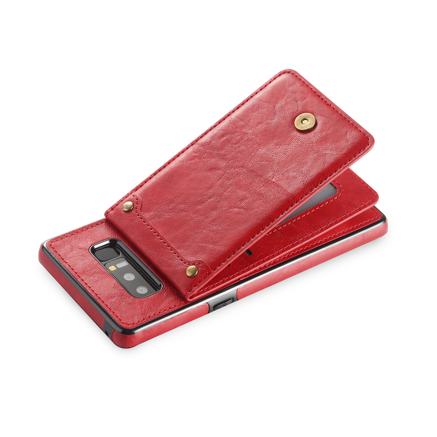Bakeey Detachable Card Slot Stand Leather Case for Samsung Galaxy Note 8