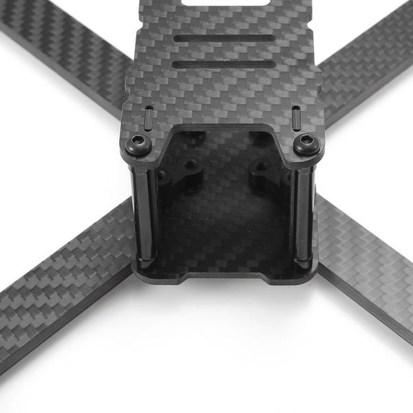 Realacc Genius 215 3K Carbon Fiber FPV Racing Frame RC Drone 4mm Frame Arm w/ 5V & 12V PDB