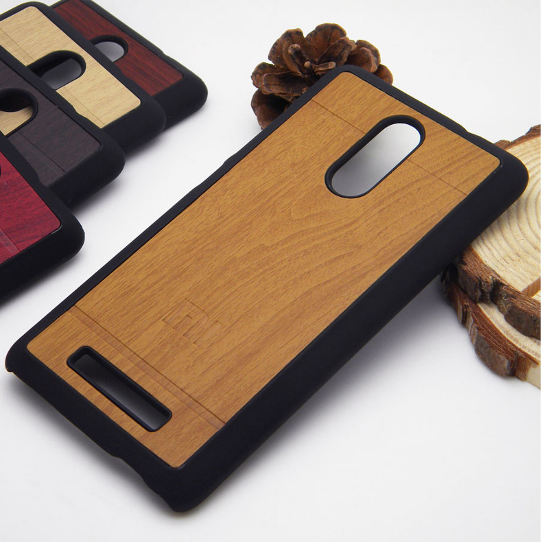 Wood Pattern Skin PC Hard Case For Xiaomi Redmi Note 3/Redmi Note 3 Pro