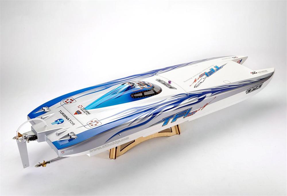 TFL 1133 1040mm Zonda 2.4G Rc Boat W/ Double Motor Without Battery Servo Transmitter Charger