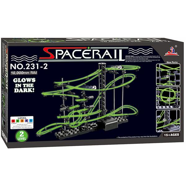 SpaceRail Level 2 231-2G 10000mm Fluorescent Luminated Model Kit