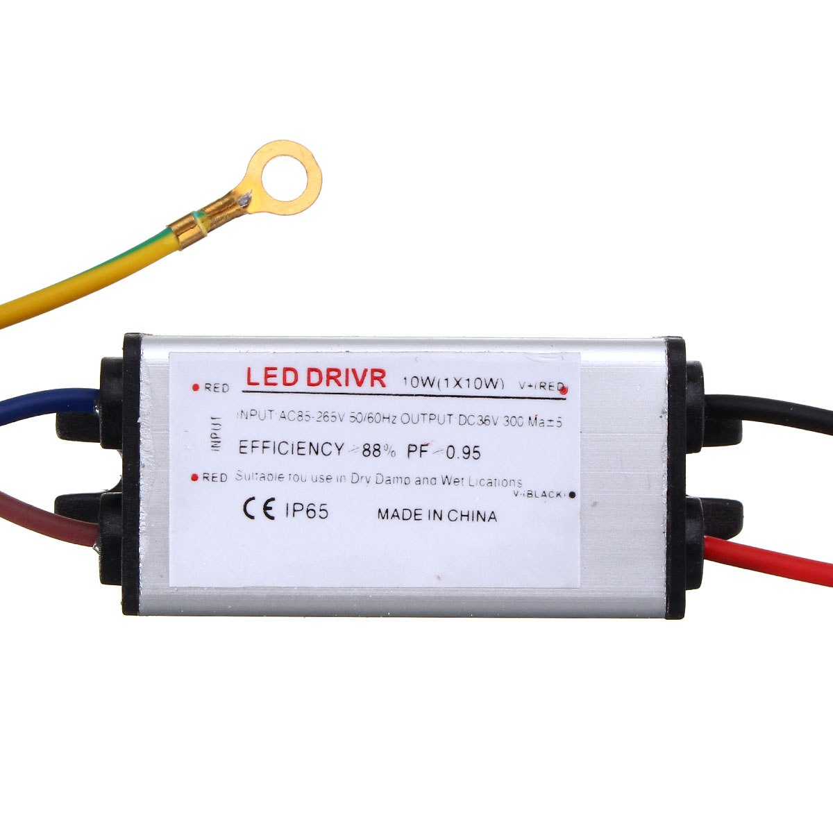 5W Waterproof High Power Supply SMD Chip LED Driver for DIY Flood Light AC85-265V