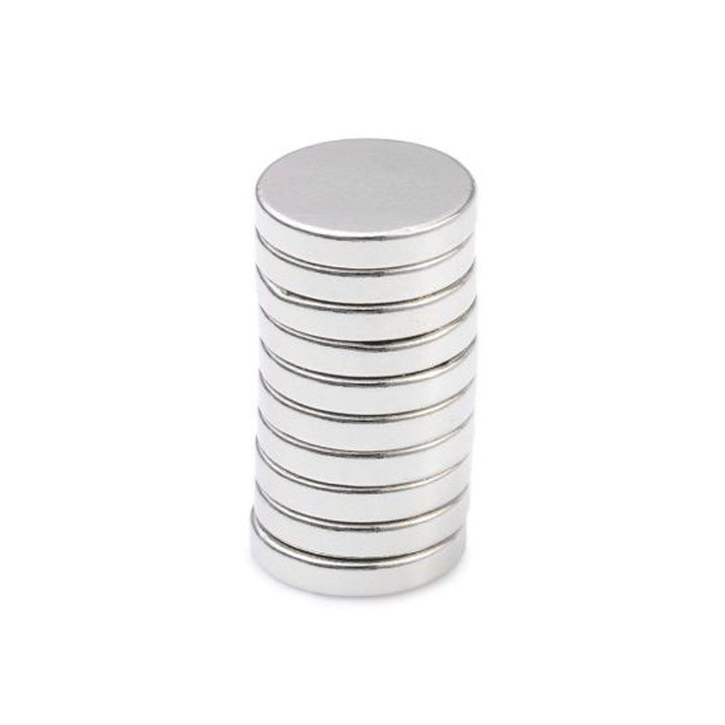 10Pcs15 x 3mm N38 Powerful Creative NdFeB Round Magnet