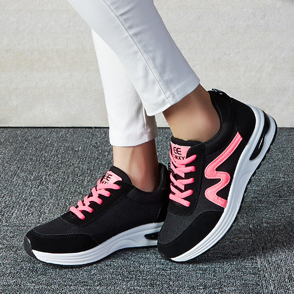 WADNASO Women Shoes Sport Casual Comfortable Soft Running Outdoor Athletic Casual Shoes