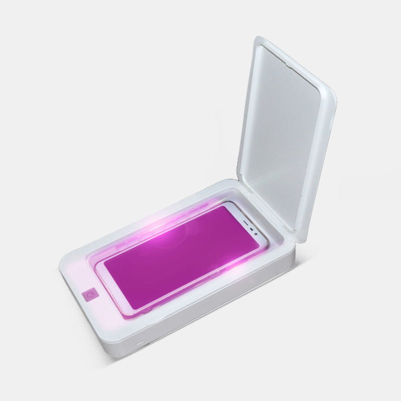 Multifunctional Double Ultraviolet Automatic Sterilization Jewelry Box Phone Toothbrush Mask Disinfection