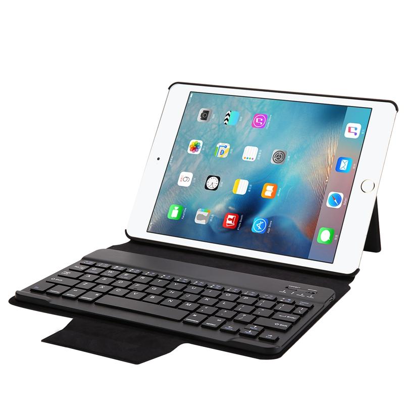Removable Bluetooth Keyboard Kickstand Case For iPad Ai