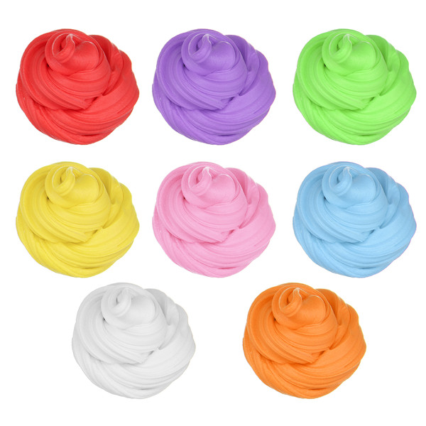Candyfloss Fluffy Floam Slime Clay Putty Stress Relieve Kids Gag Toy Gift 8Color