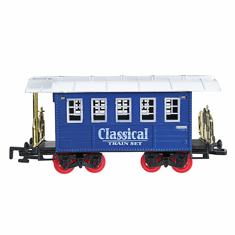 Remote control Track Train With Light Music Model Toys For Kids Children Educational Gift Toys