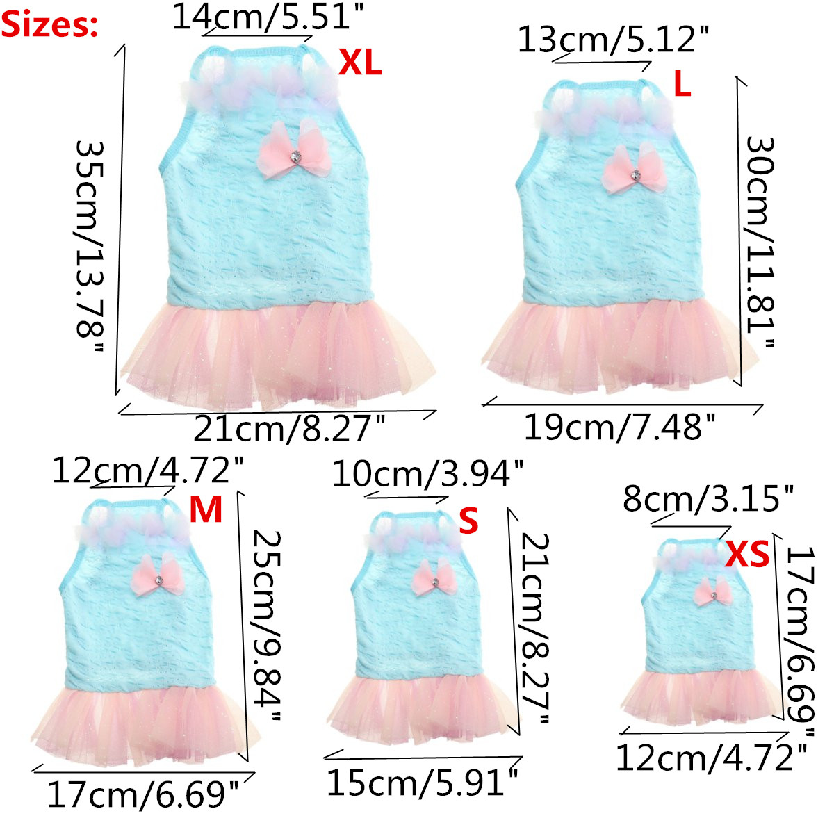 Pet Dog Cat Clothes Flower Princess Dog Dress Pet Puppy Shirt Vest Apparel Summer Skirt Costumes