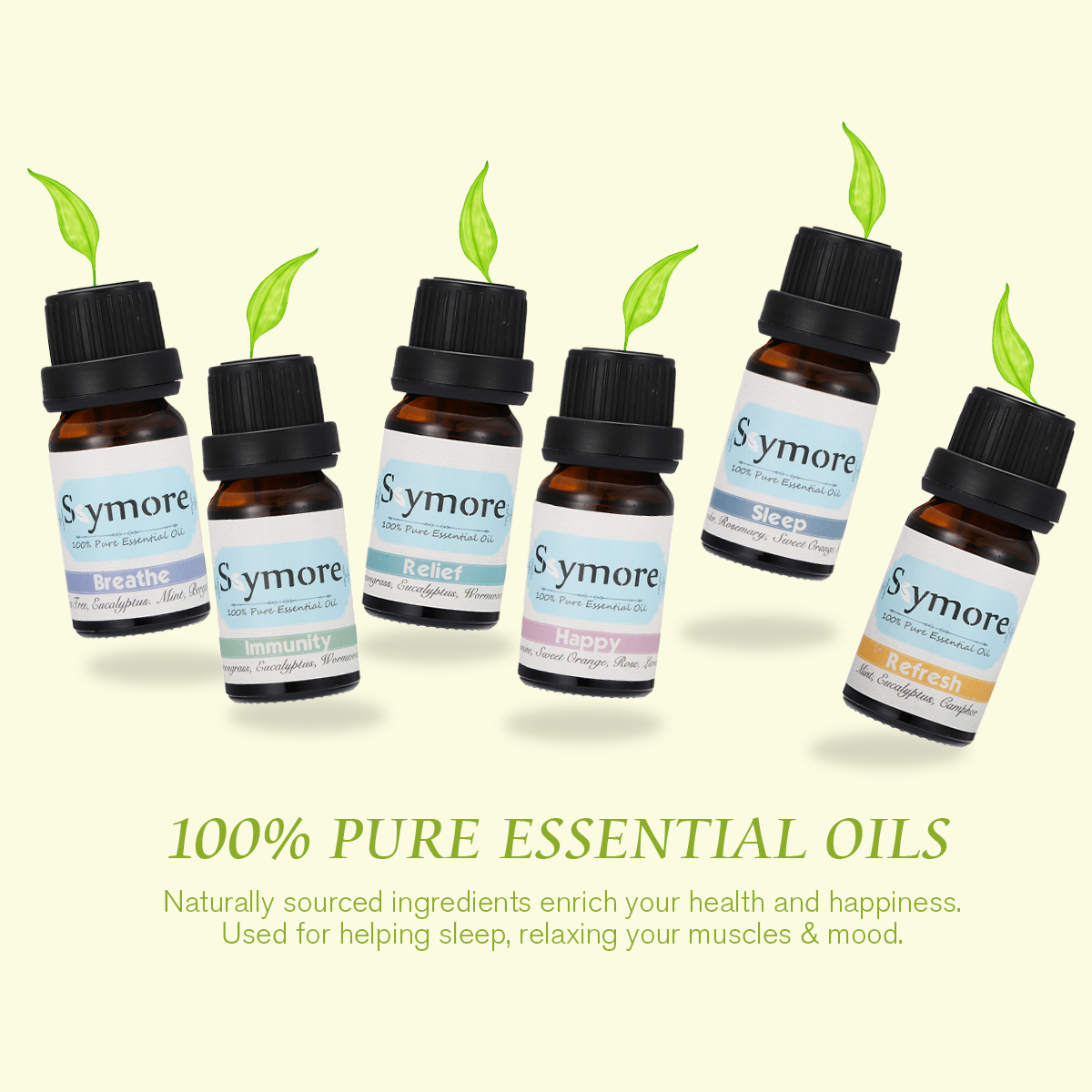Skymore Therapeutic Grade Essential Oil Set