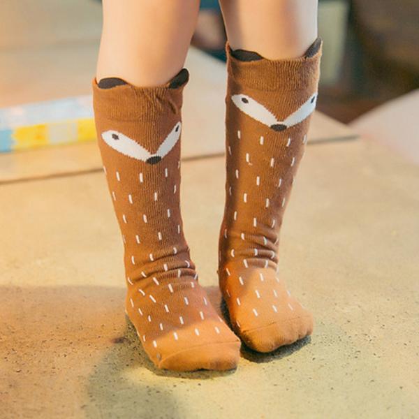 Children Kids Cute Cartoon Animal Baby Knee Socks