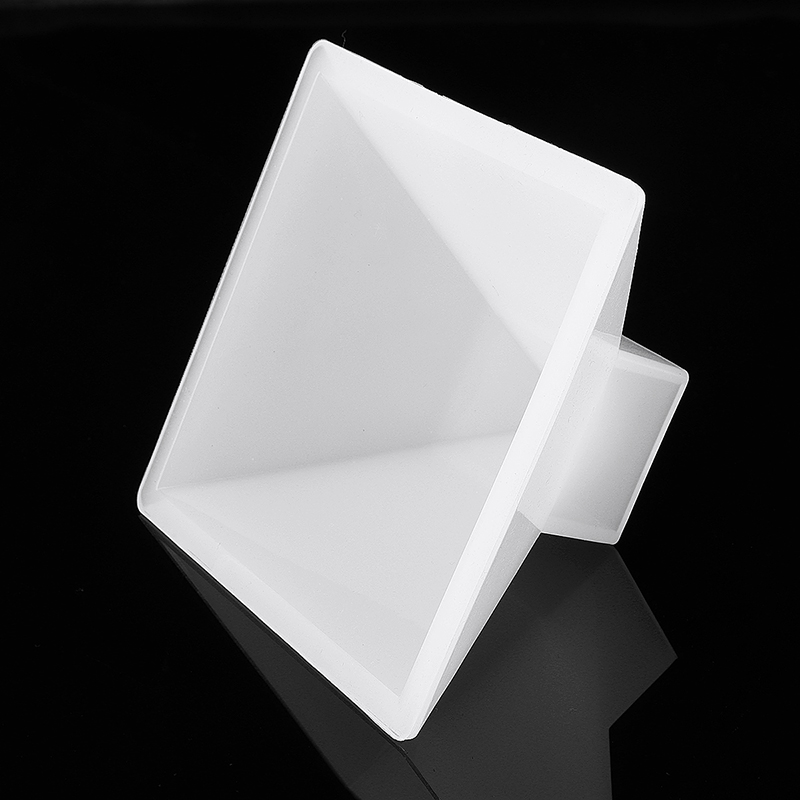Pyramid Silicone Mold Resin Jewelry Making Mould Epoxy Ornaments Craft DIY Tools