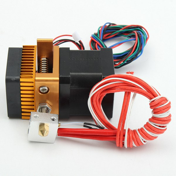 12V 0.4mm Upgrade MK8 Extruder Latest Nozzle For Prusa i3 3D Printer