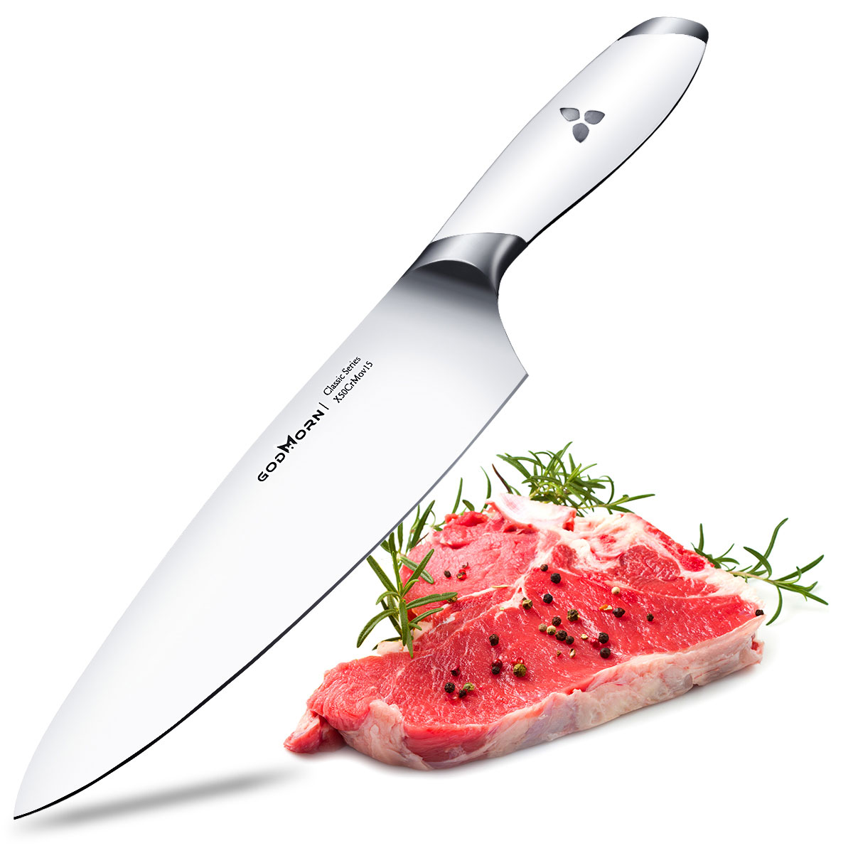 Godmorn Chef Knife 8 Inch German Stainless Steel Knife