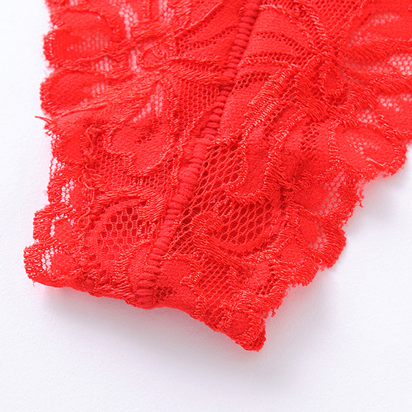 Hollow Lace Mid Waist Seduced Ladies Panties