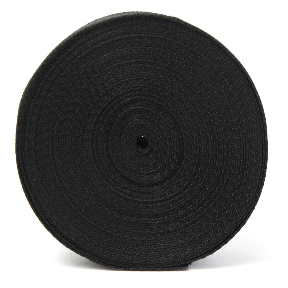5cmx10m Black Nylon Fabric Webbing Tape For Making Strapping Belting Bag Strap