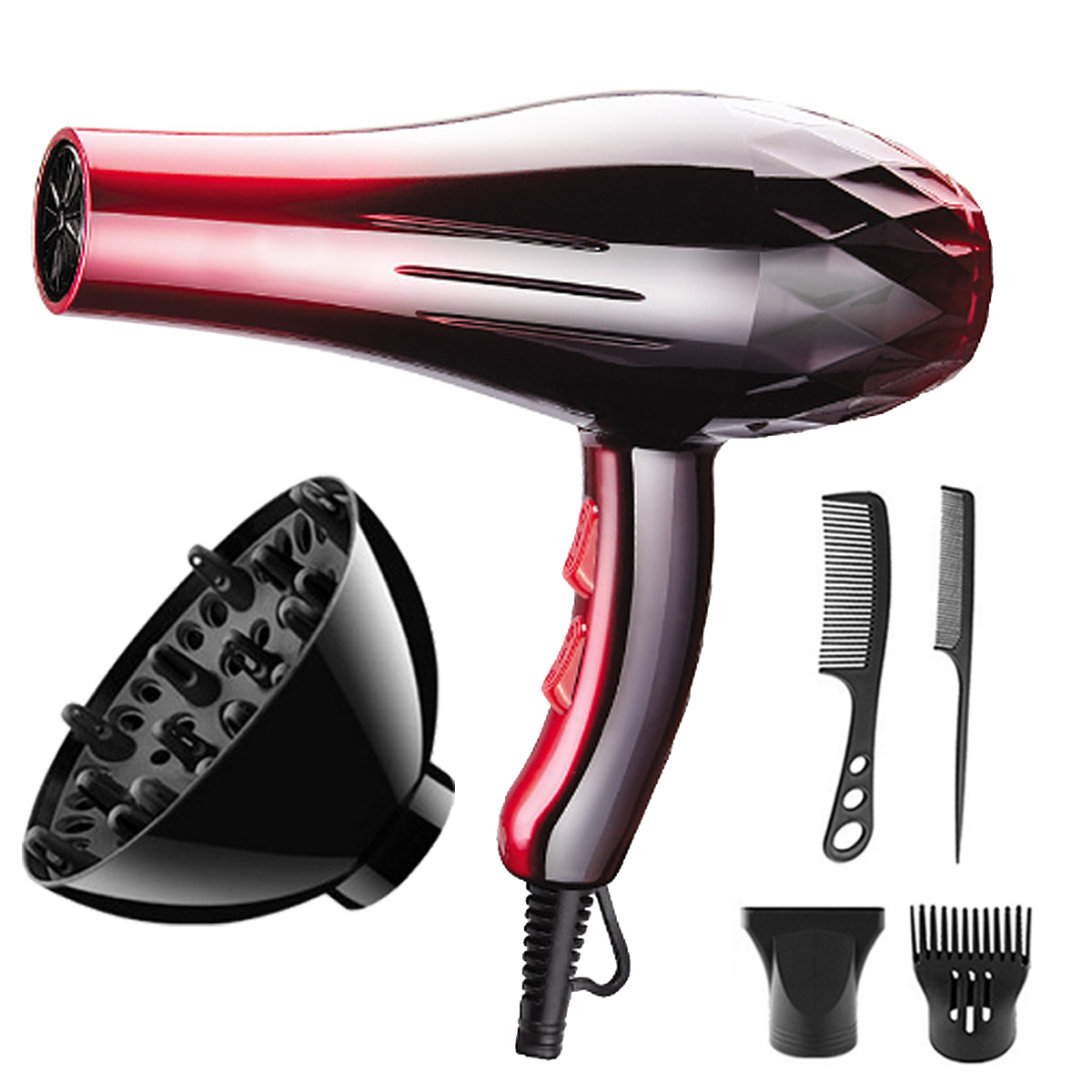 220V 2200W Electric Hair Dryer Heat Blower Beauty Const
