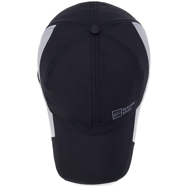 Men Mesh Baseball Cap Outdoor Quick Dry Peaked Caps