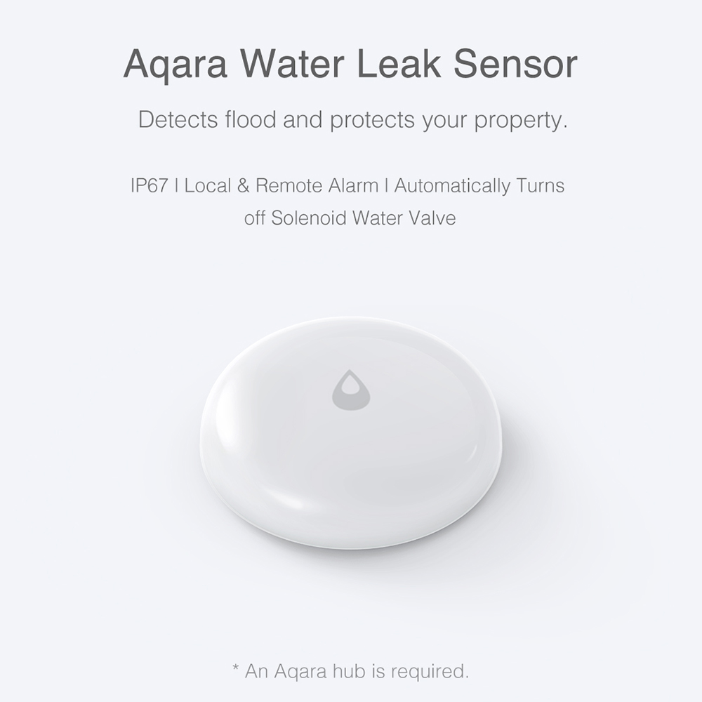 Xiaomi Aqara Smart Water Detector Alarm Sensor Flooding Sensor Remote Alarm with APP