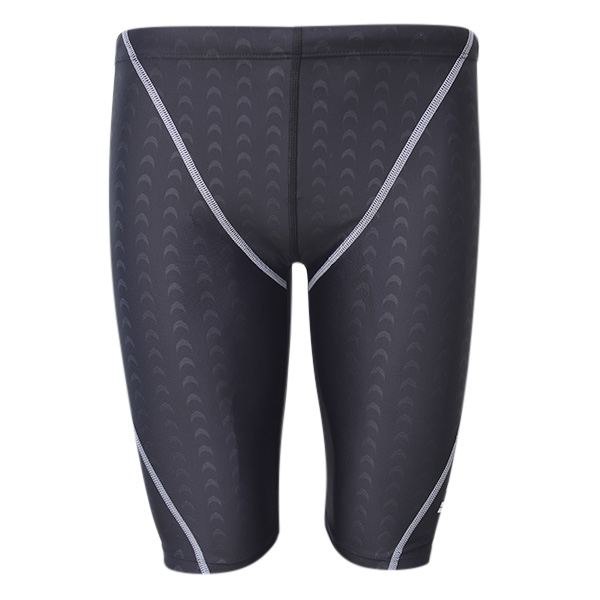 Mens Imitation Shark Skin Professional Swimming Beach Surf Spa Shorts Fashion Casual Trunks