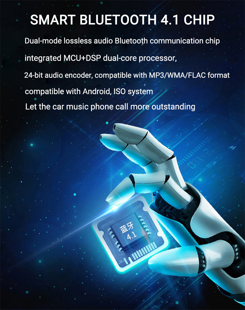 Bakeey 3.1A 3 USB Car Charger LED Display FM bluetooth Transmitter Handsfree Audio MP3 Player for iPhone X XR Xs Note9 S9 Mi8