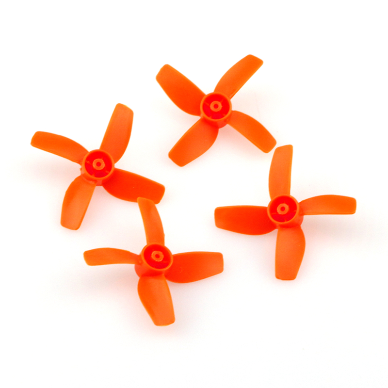 Eachine E010 E010C E010S RC Quadcopter Spares Parts Orange Propeller For Blade Inductrix Tiny Whoop