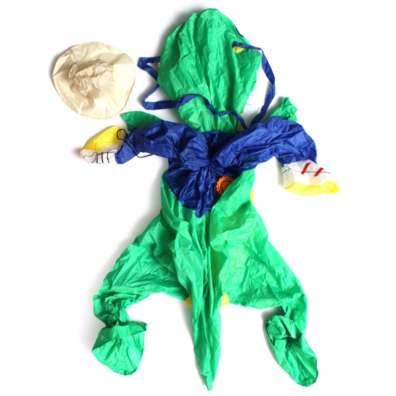Children Inflatable Dinosaur T-REX Fancy Dress Unisex Costume Dino Rider