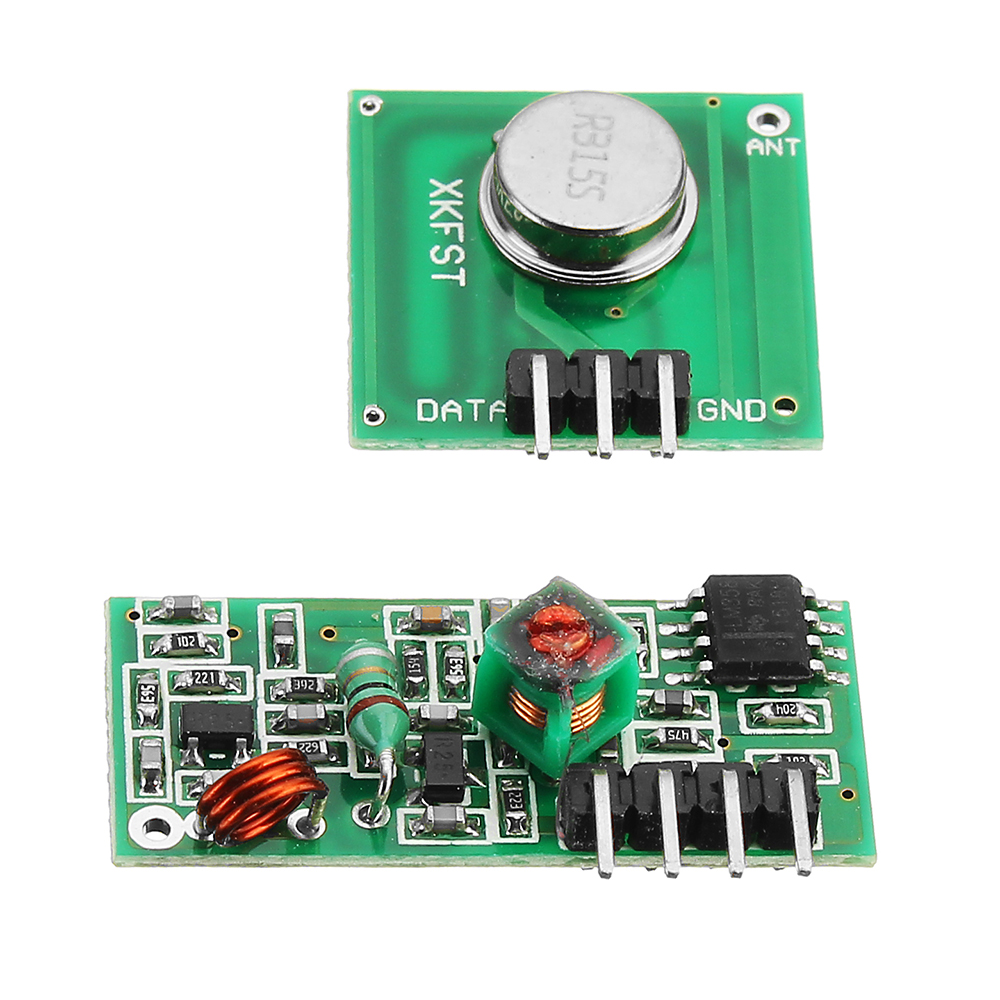 10Pcs 433Mhz Wireless RF Transmitter and Receiver Module Kit For Arduino MCU