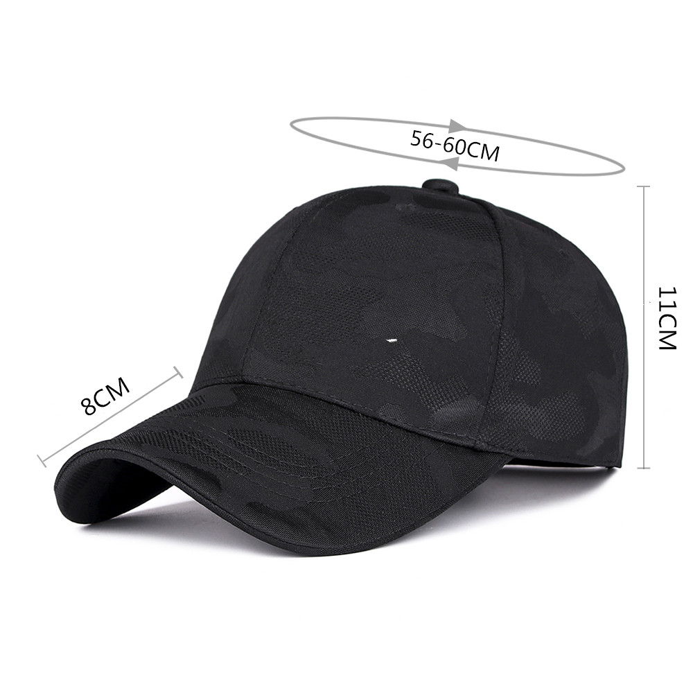 Men Outdoor Sunshade Camouflage Baseball Cap