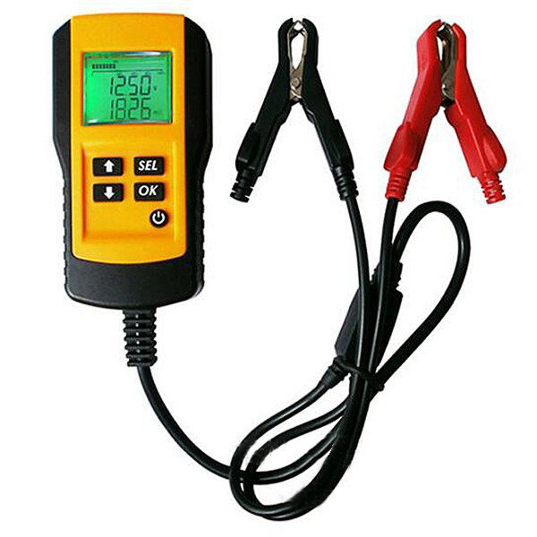 12V LCD Display Automotive Car Vehicle Digital Battery Tester Analyzer Tool