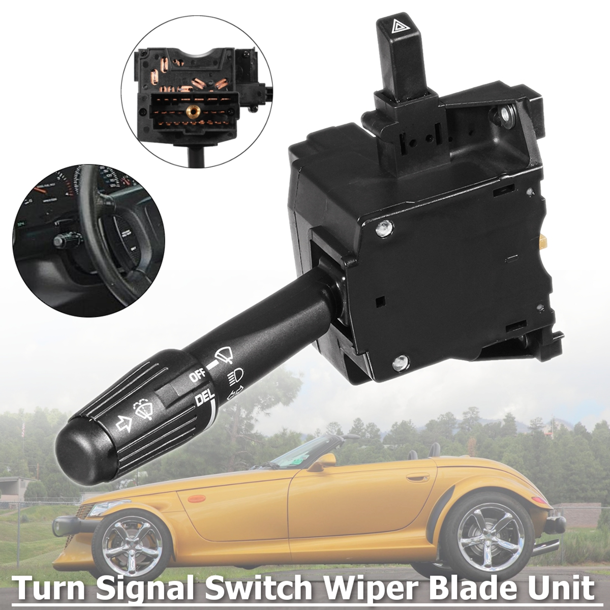 Car Turn Signal Switch Delay Wiper Blade For Chrysler