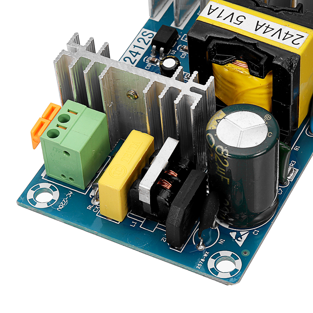 AC-DC 24V4A 5V1A Dual Switch Power Supply Module Isolated Dual Output Power Supply Bare Board