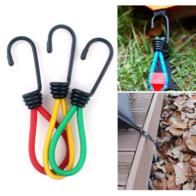 IPRee® 15cm Multi-purpo Tent Elastic Rope Buckle Tent Retractor Pull Ground Nail for Camping Hiking