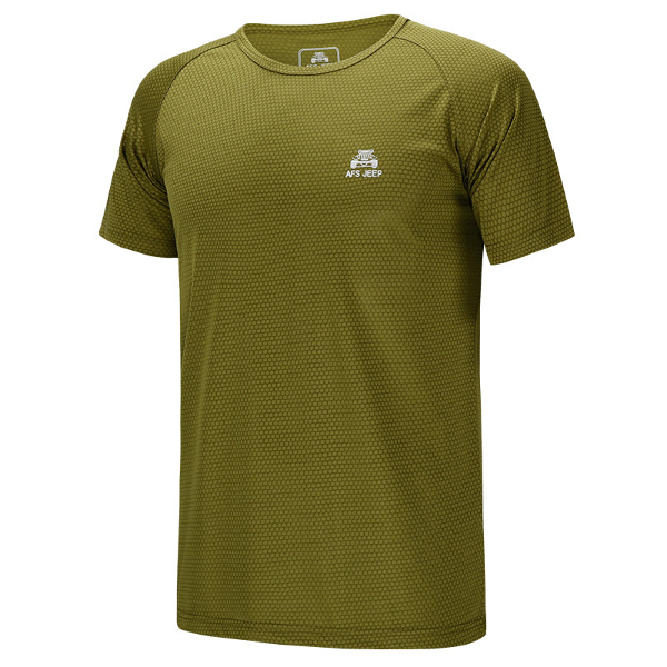 Plus Size Mens Outdoors Sport Tops