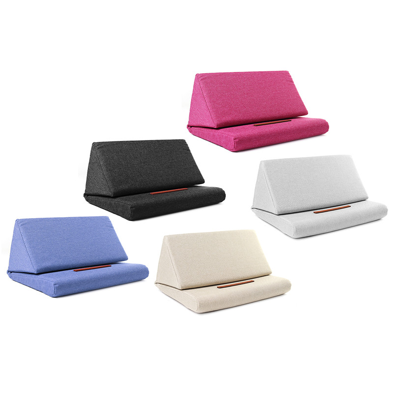 Universal Foldable Pillow Anti-slip Stand Desktop Phone Stand Lazy Holder for Smart Phone Tablet