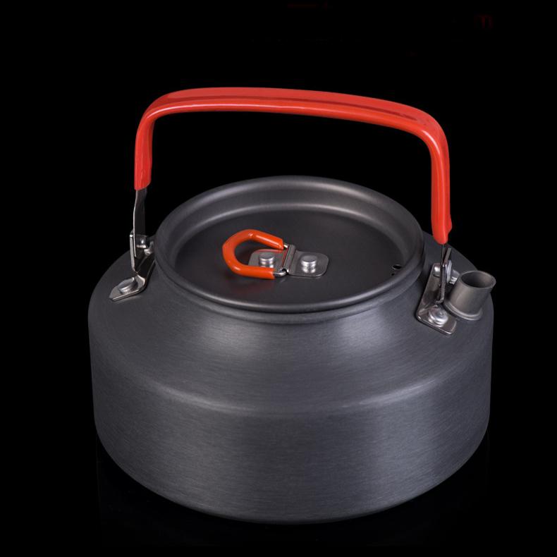 Naturehike NH17C020-H 1.1L 3-4 Person Alumina Outdoor Kettle Portable Camping Hiking Travel Teapot