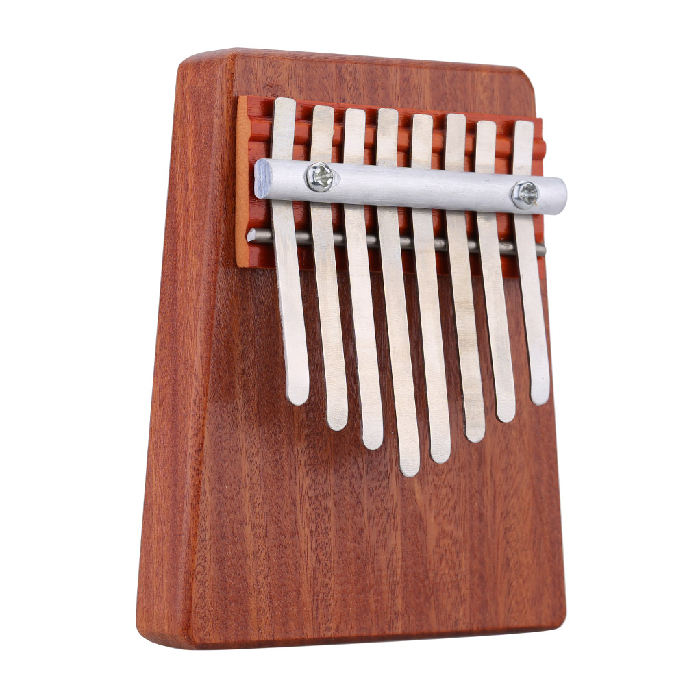 8 Key Finger Mbira Kalimba Likembe African Thumb Pocket Piano