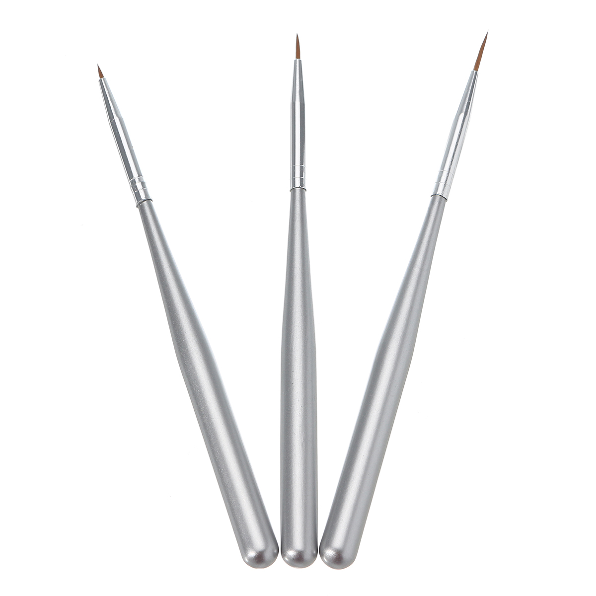 3pcs Nail Art Liner Brushes