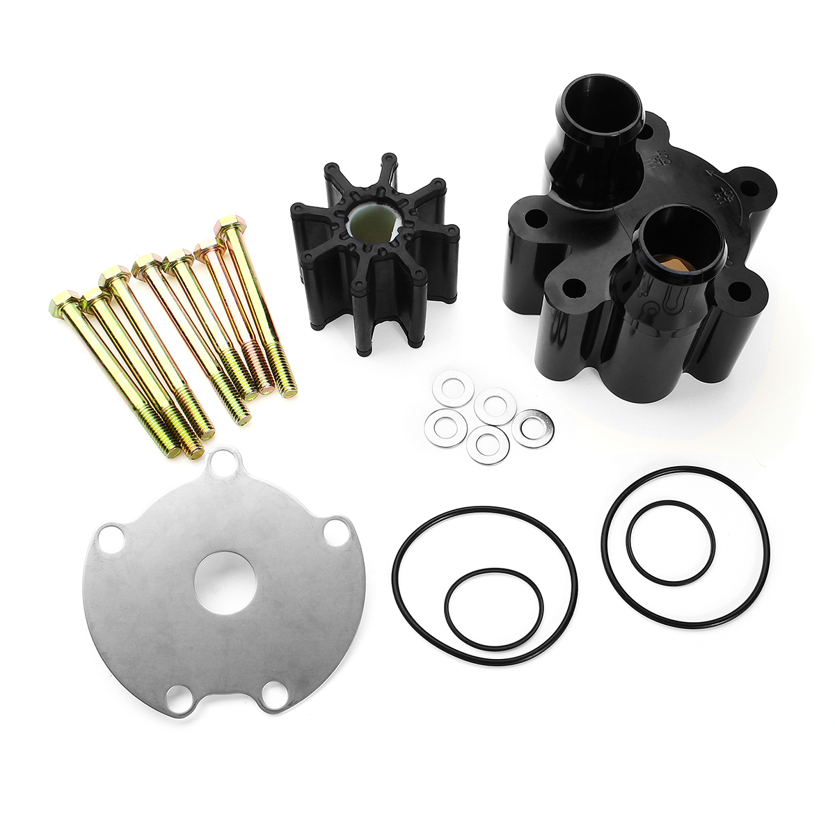 Boat Water Pump Impeller Repair Part Kit For Mercruiser Bravo Raw 46-807151A14