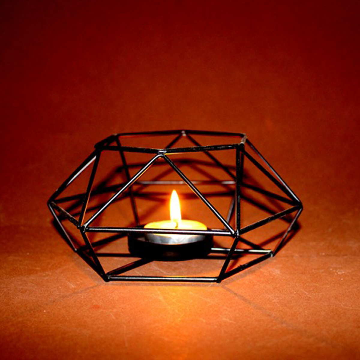 Iron Oil Burner Candlestick Candle Holder Aromatherapy Oil Lamp Decorations Creative Gift