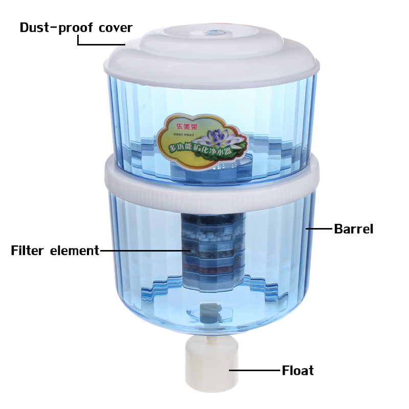 12L Filter Purifier Activated Carbon Household Plastic Water Purifier Universal Water Purifier