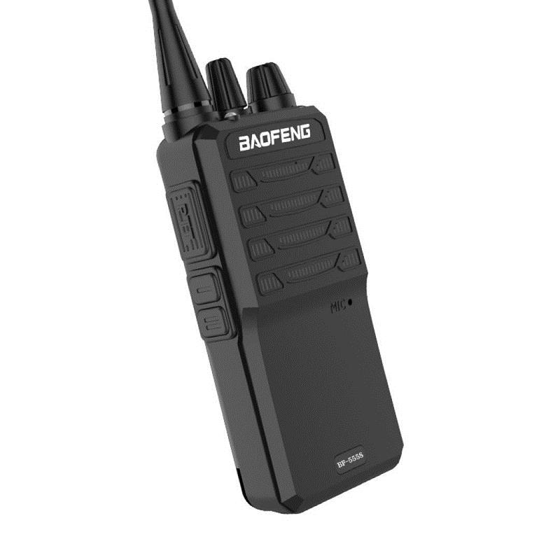 BAOFENG BF-555S 16 Channels 400-470MHz High-power Ultra Light Two Way Handheld Radio Walkie Talkie
