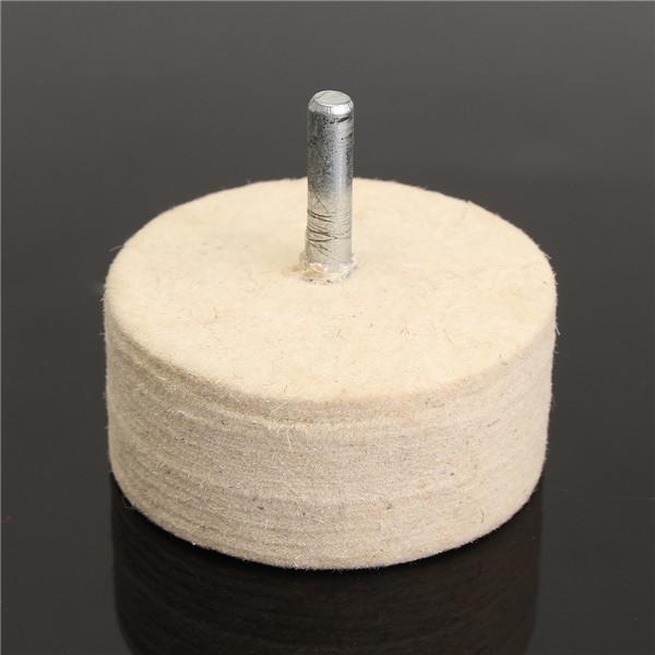 8Oz 230g Cerium Oxide Polishing Powder with 2 Inch Felt Polishing Wheel