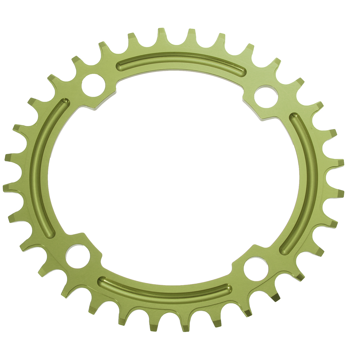 SNAIL 32T Oval Ddisc Chainring Bicycle Crankset 104MM Chainwheel Bike Single-tooth Positive and Negative Plate